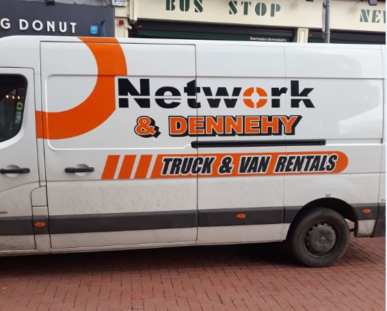 Dennehy & Network Van Hire 44