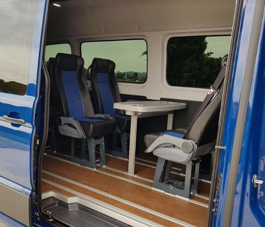 MAN TGE Back Seating - Commercial Trucks Sales, Renault Trucks, Man