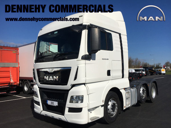 MAN TGX 26.480 26 Tonne Tractor Unit full