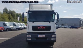 MAN TGM 18.250 4 X 2 Rigid Curtainsider full