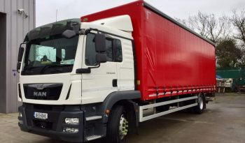 MAN TGM 18.250 Auto Rigid Curtainside Daf Scania full
